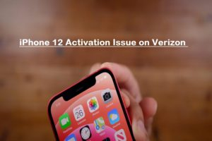 iphone 12 waiting for activation