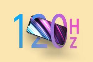 iphone 13 with 120 hz