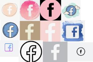 Facebook icon aethetic