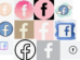 Facebook icon aethetic