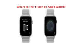 Where Is The 'i' Icon on Apple Watch
