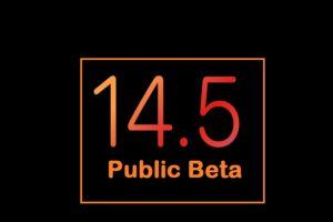 ios 14.5 public beta