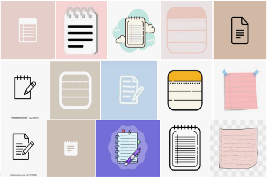 Aesthetic Notes Icon