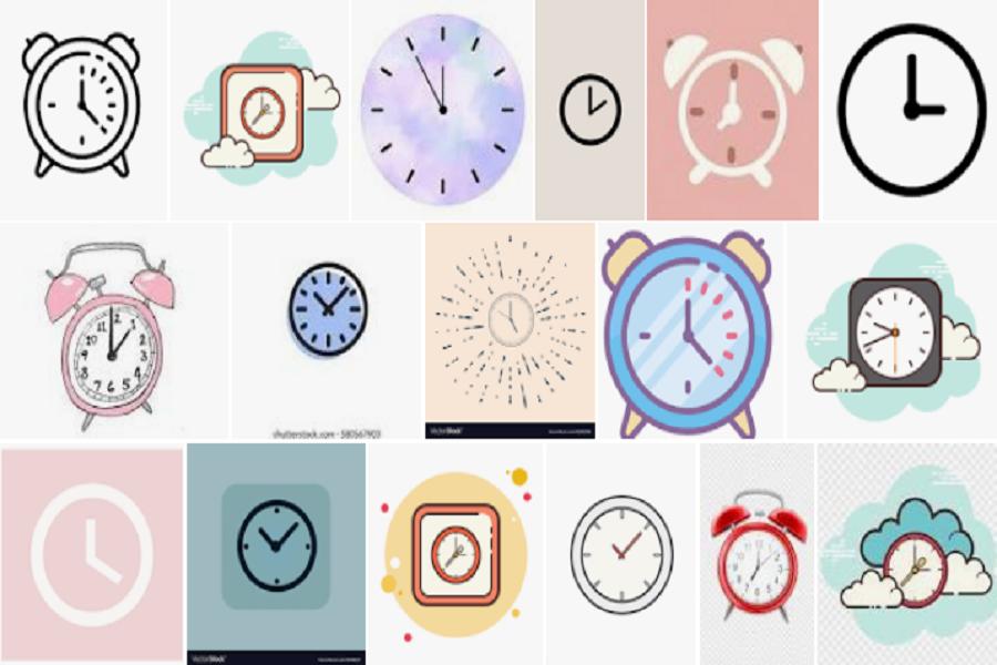 Clock Icon Aesthetic