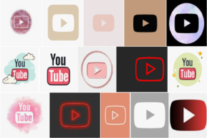 YouTube Icon Aesthetic