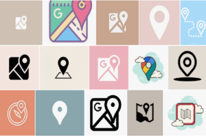 Maps Icon Aesthetic