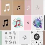 music icon aesthetic