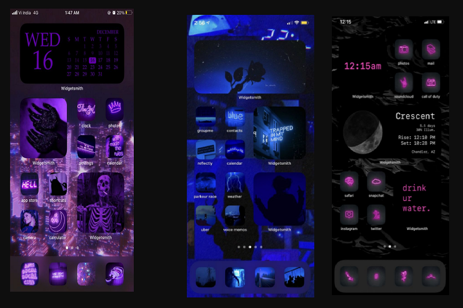 Neon Wallpapers For iPhone