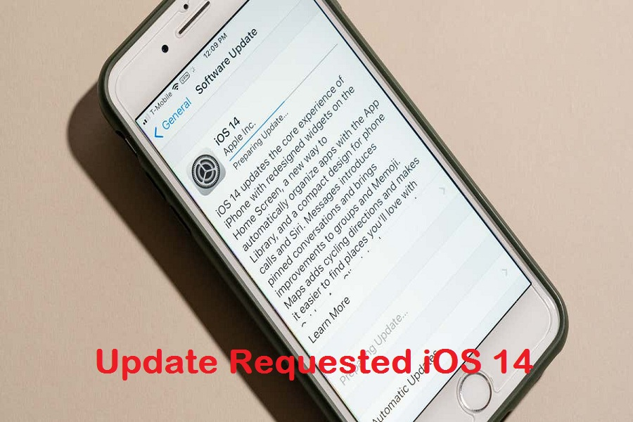 Update Requested iOS 14