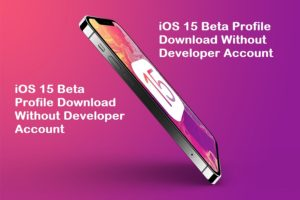 iOS 15 Beta Profile Download Without Developer Account