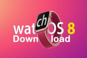 Download watchOS 8 Beta