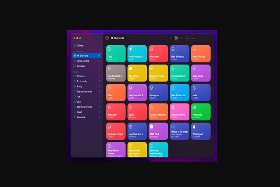 Make Shortcuts On Mac in macOS Monterey