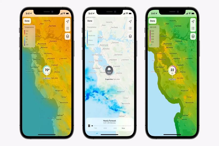 iOS 15 Weather App