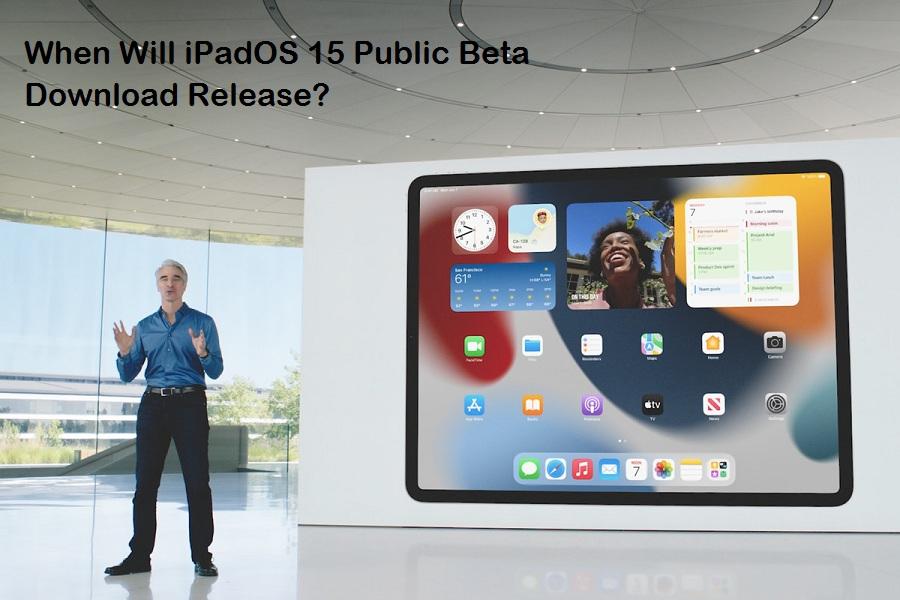 iPadOS 15 Public Beta