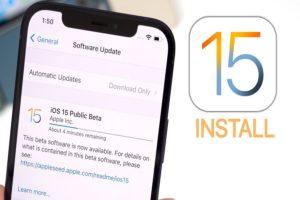 Download iOS 15 Public Beta