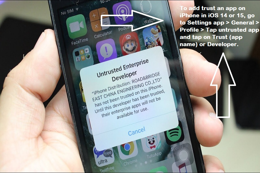 How to Trust An App on iPhone