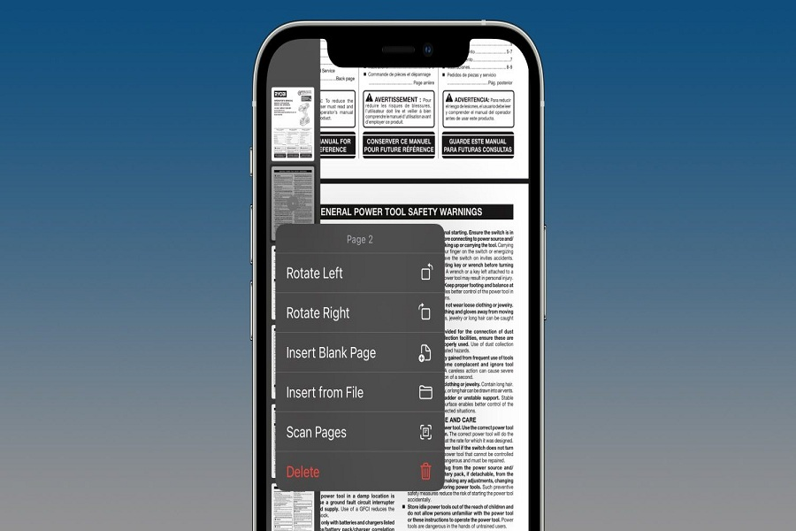 How to edit PDF on iPhone