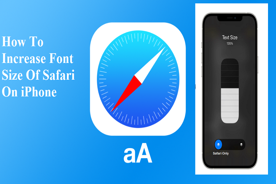 Increase Font Size Of Safari iphone