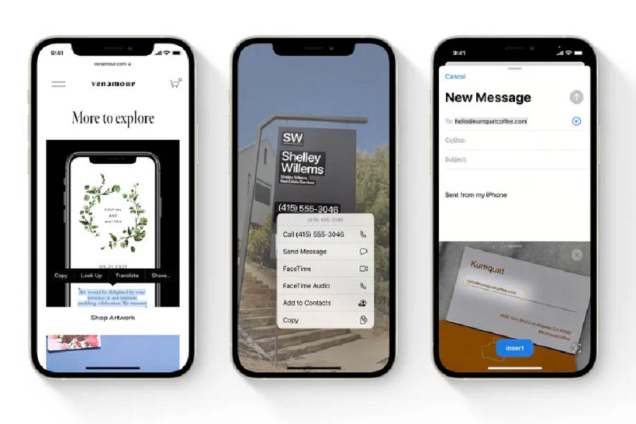 Live Text iOS 15 Supported Devices