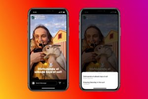 Translate Instagram Stories To English