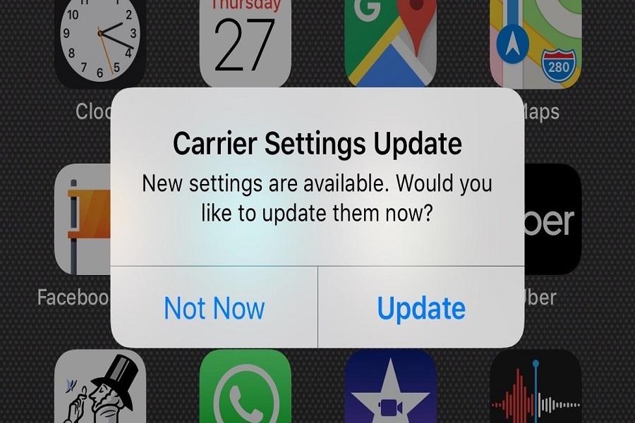 Update Carrier Settings