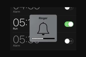 iPhone Alarm Volume