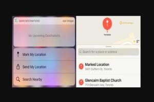 mark A Location on Apple Maps