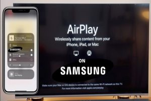 Airplay not working on Samsung TV