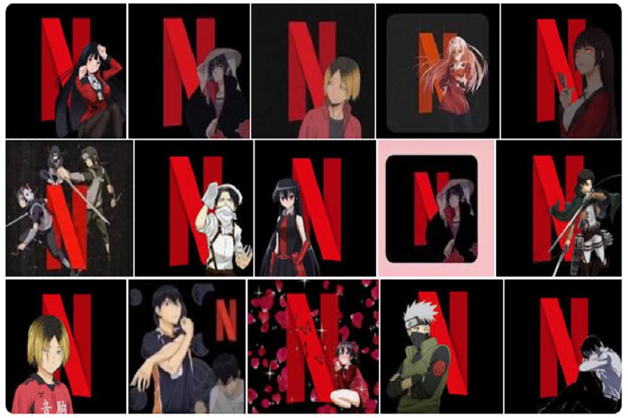 Anime Netflix App Icons