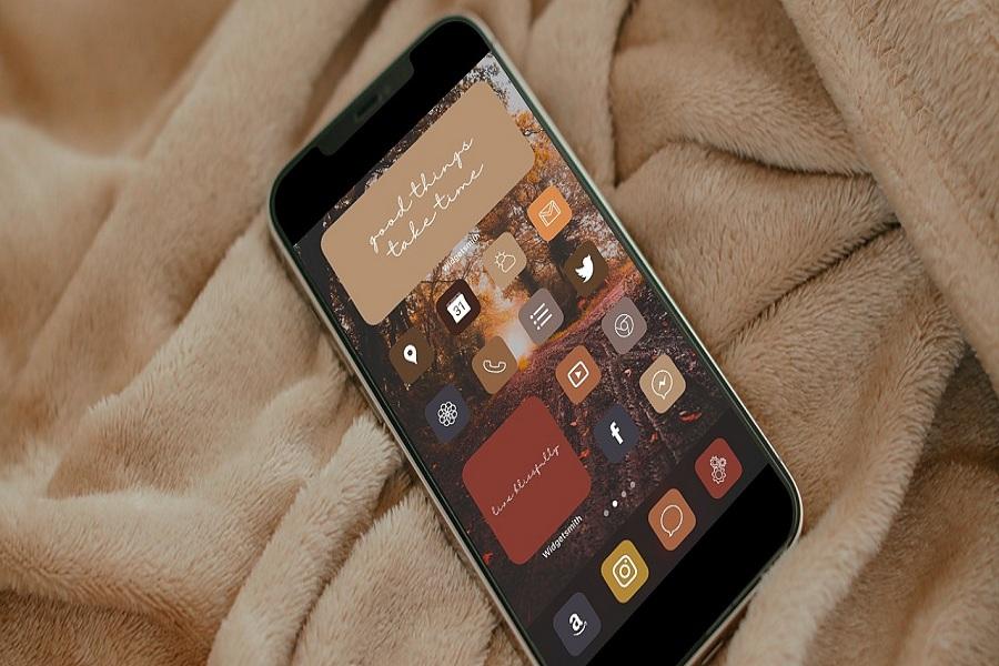 Fall iOS 14 Icons