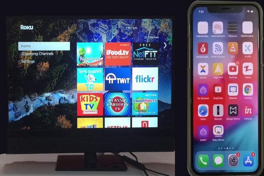 How To Mirror iPhone To Roku TV