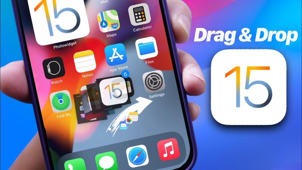 How to Use Drag and Drop on iOS 15