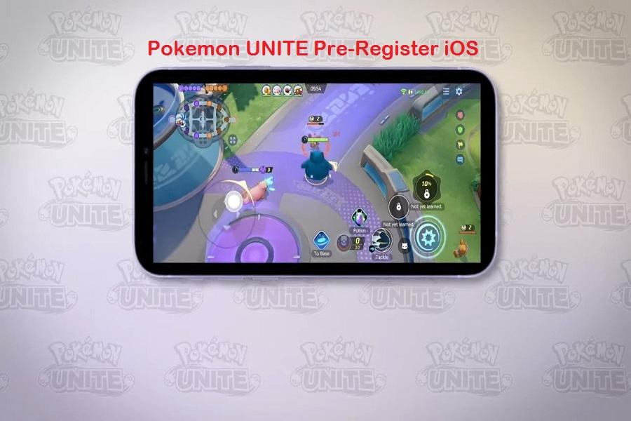 Pokemon UNITE Pre-Register iOS