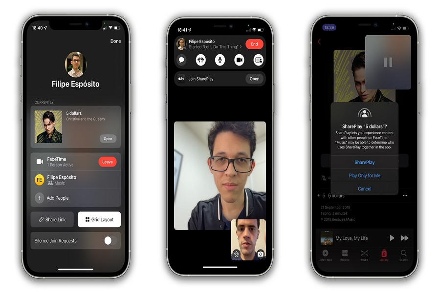 How To Play Music On FaceTime In iOS 15