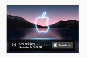 How To Watch Apple September Event