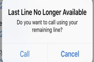 Last Line No Longer Available iPhone 13 Pro Max