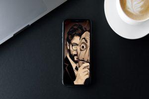 Money Heist HD Wallpaper iPhone