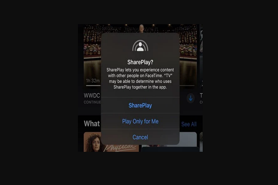 Share play Not Working iOS 15