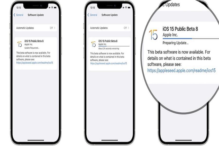 iOS 15 Beta 8 Changes