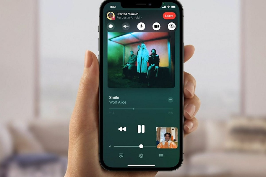iOS 15 FaceTime Screen Share Not Working
