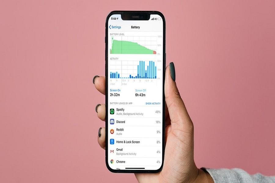 iOS 15 Spotify Battery Drain