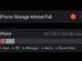 iPhone Storage Almost Full iOS 15
