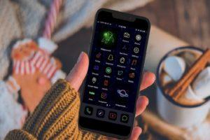 Neon Phone Icon (2)