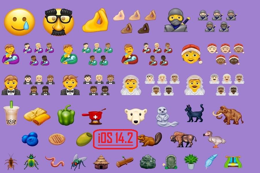 New Emojis Coming to iOS 14.2