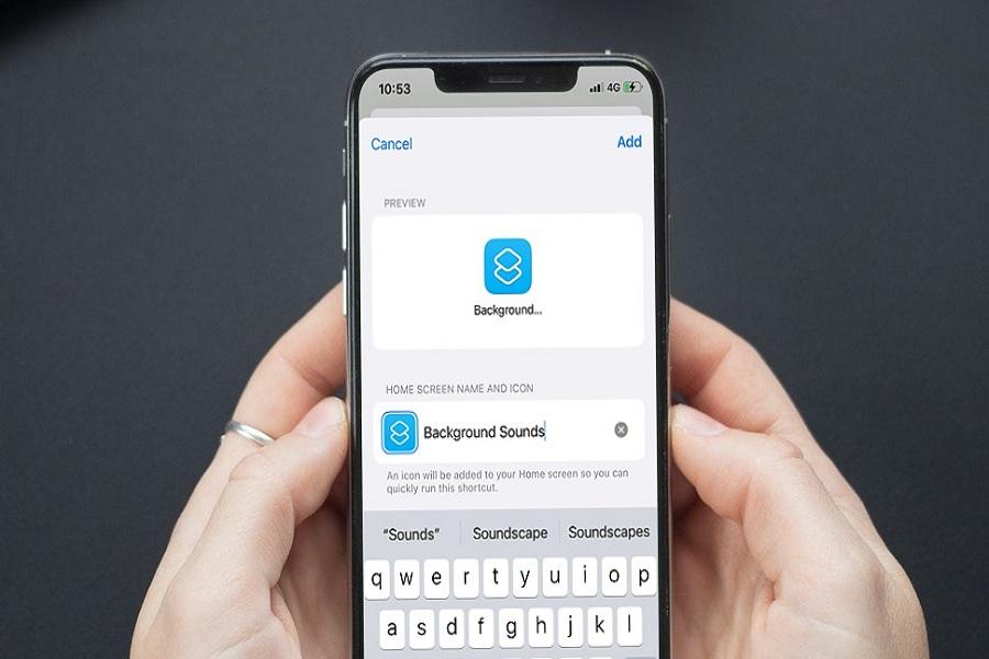 iOS 15 Background Sounds Shortcut